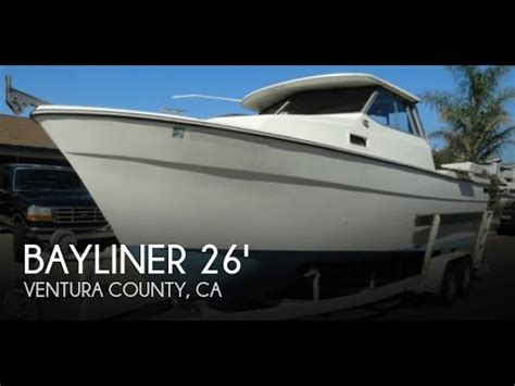 used trophy boats for sale in bc unavailable used 1982 bayliner 26 explorer in oxnard