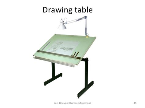 how to use a drafting table engineering drawing