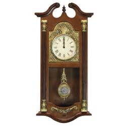 Backyard Nursery Uniquewise Pendulum Wall Clock Wayfair