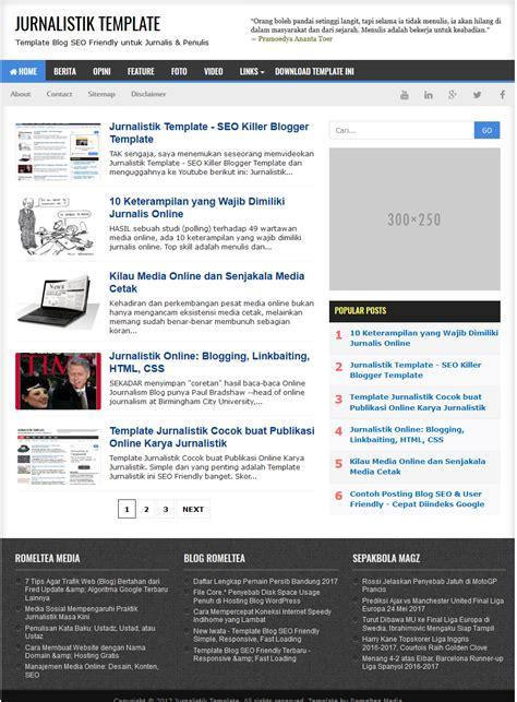 free seo optimized template jurnalistik seo optimized fast loading template