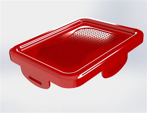 render plastic darnelius hill plastic crate rendering with solidworks