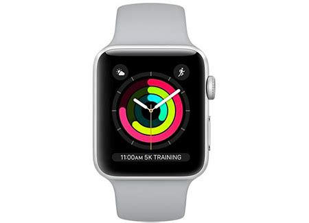 Apple Series 3 Gps Mqku 38mm Silver Aluminium With Fog Sport Ban price review and buy apple series 3 38mm silver