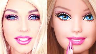 barbie doll makeup transformation youtube