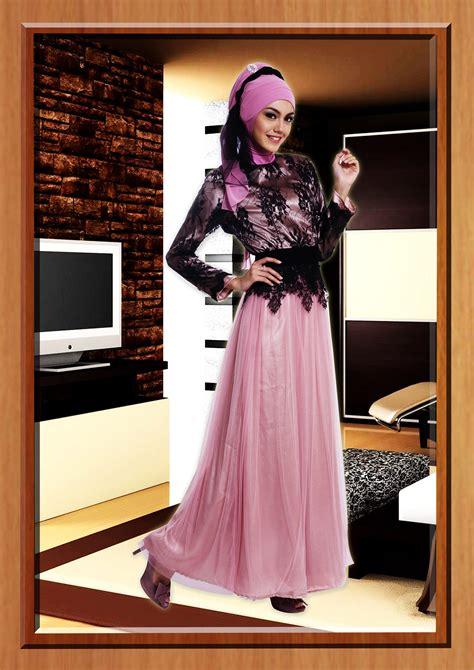 Baju Muslim Wanita Yang Lagi Trend Model Gaun Pesta Panjang Newhairstylesformen2014
