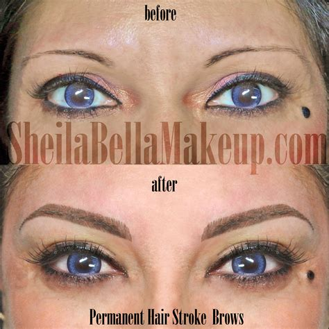 hair stroke eyebrow tattoo beautiful hair stroke eyebrows permanent makeup
