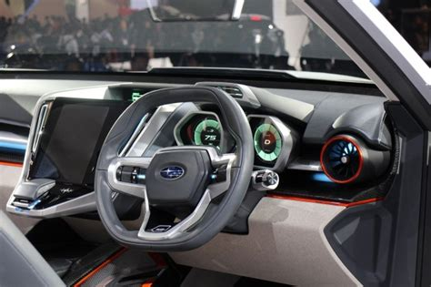 subaru viziv interior subaru viziv future concept previews next generation