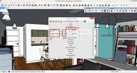 tutorial vray sketchup cena externa arquitetura ativa tutorial render vray sketchup