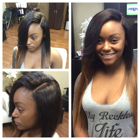 weave no leave out hairstyle brazillian vixen sew in with no leave out hairstylegalleries com
