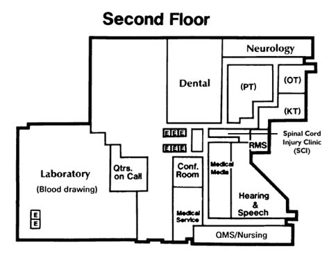 floor plan mapper facility map dayton va medical center ohio