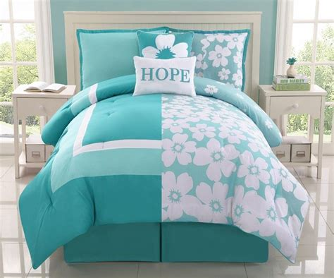 ebay bedding reversible aqua splash flower bed in a bag bedding 2616 ebay