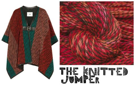 knit your own jumper knitting project how to make a poncho