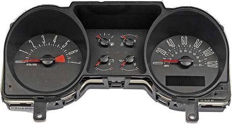 automotive repair manual 2002 ford mustang instrument cluster 2004 2005 ford mustang instrument cluster repair 4 0l 6 gauge 120 mph 7000 rpm