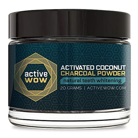 active wow teeth whitening powder charcoal  buy