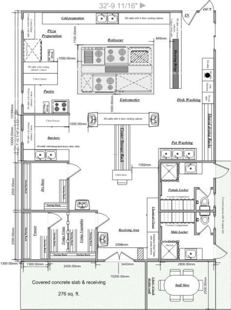 Kitchen Design Layout Restaurant Kitchen Plans Design Afreakatheart