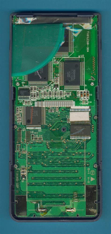 integrated circuit of a calculator datamath pictures