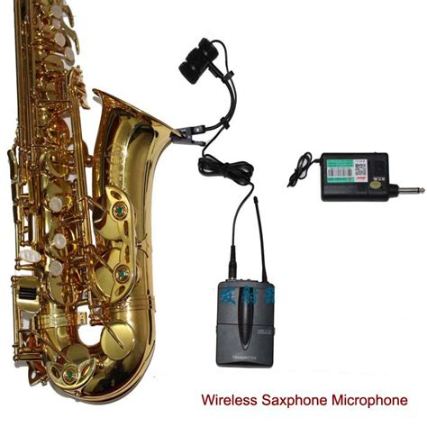 aliexpress com buy rock jazz saxophone performances home affordable wireless saxophone microphone system