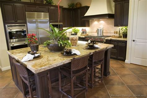 pictures kitchens traditional dark wood kitchens walnut color page