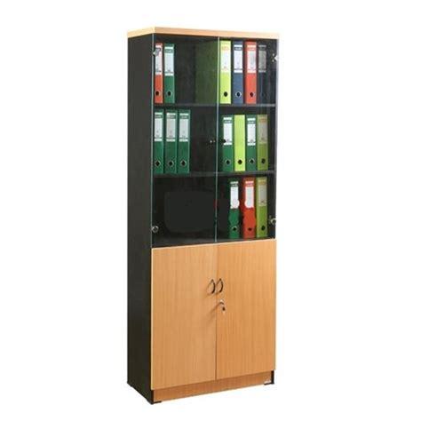 Lemari Rak Arsip jual lemari arsip lunar lrt 202 atas rak terbuka bawah pintu panel aneka furniture jaya