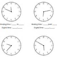 telling time worksheets dr mike s math games for kids