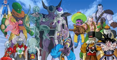 dragon ball z villains wallpaper dragon ball z images d b z villains hd wallpaper and