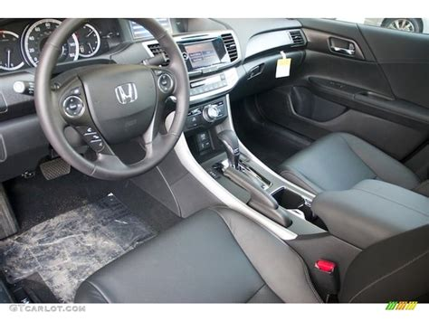 2013 Honda Accord Ex L Interior by Black Interior 2013 Honda Accord Ex L V6 Sedan Photo