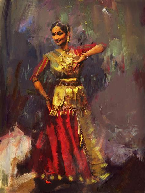 biography of indian classical artist classical dance art 9 painting by maryam mughal