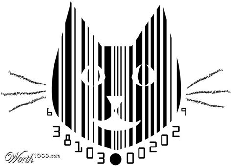 pin magazine barcode and price on pinterest cat barcode creative barcodes pinterest