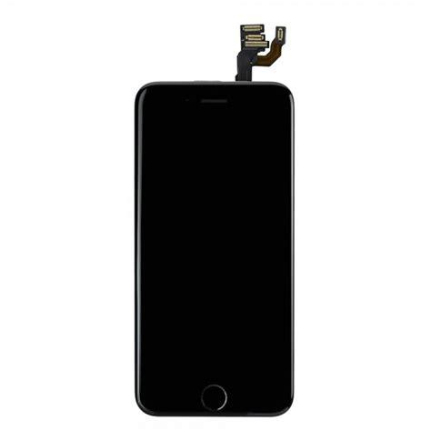 ecran complet noir iphone 6 lcd et vitre tactile 233 ra avant ecouteur nappe bouton