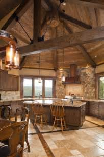 rustic cabin kitchen ideas interior styles designs