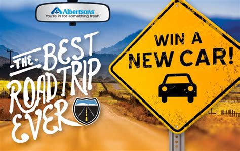 The Best Sweepstakes - the best road trip ever albertsons sweepstakes win a new ford vehicle