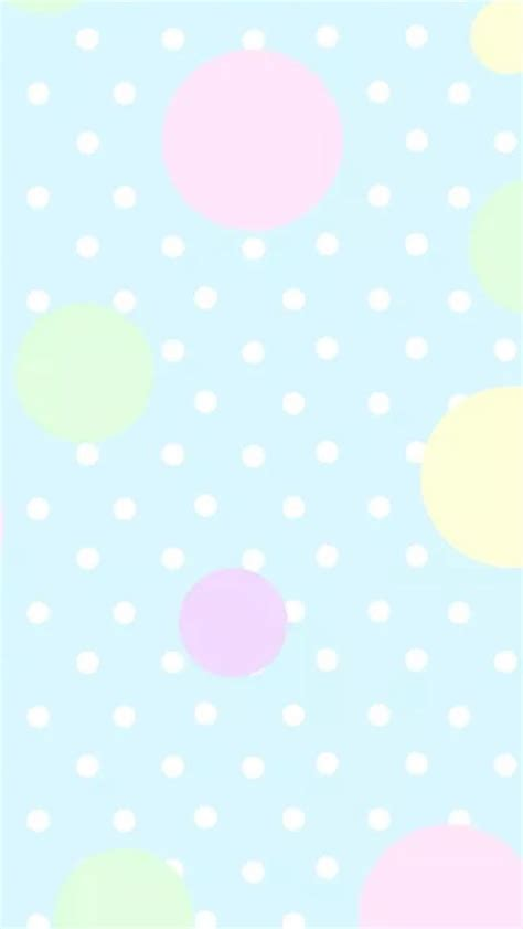 dot pattern screen lock for iphone pastel blue pink mint yellow polka dots spots iphone phone