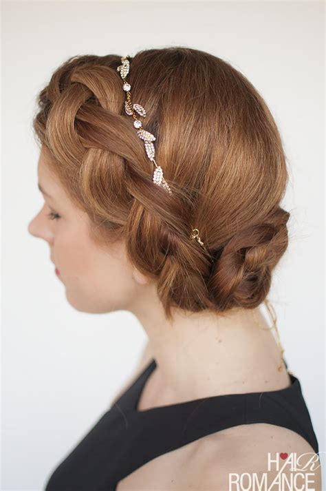 diy hairstyles for formal events try this diy braided updo for your next formal event or
