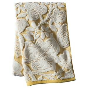 threshold textured floral bath towels target