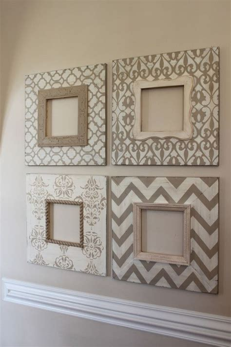 cheap decorating ideas easy stenciling and craft