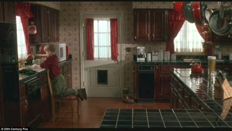 kitchen movies mansion featured in home alone looks radically different
