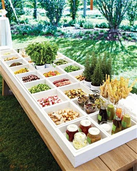 simple modern buffet table setup buffet banquet party