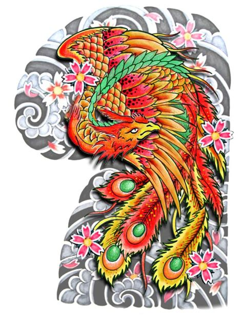 traditional tattoo phoenix az traditional or neo japanese half sleeve shoulder chest