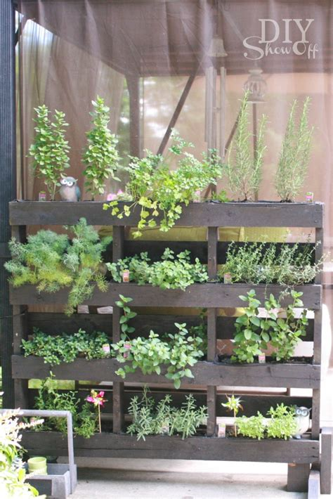 Standing Herb Planter by Summer Home Tour At Diyshowoffdiy Show Diy