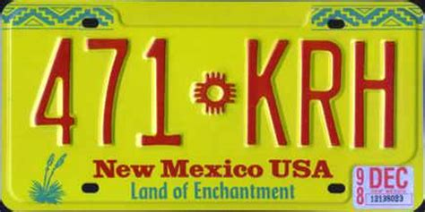 New Mexico Vanity Plates by You You Re In New Mexico When Espanola License