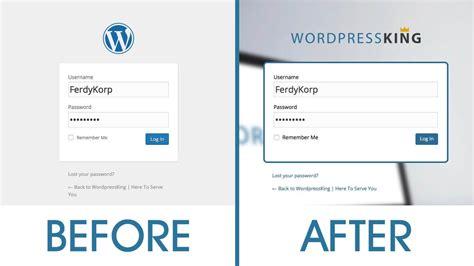 avada theme login page customize your wordpress login page learn how to create