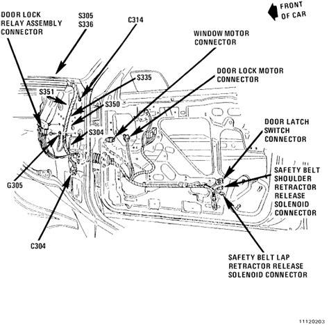 door lock relay wiring diagram where exactly is the power door locks relay on a 91 olds cutlass cruiser a ciera wagon