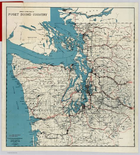 Map Of Puget Sound And by Taylor Volz S Gis Portfolio