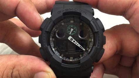 Casio G Shock Ga 100l 1a Original casio gshock ga100mb 1a review how to set time