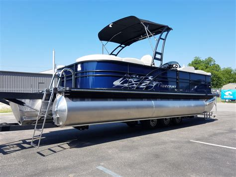 pontoon wake tower 2017 new starcraft sls3 with wake tower pontoon boat for