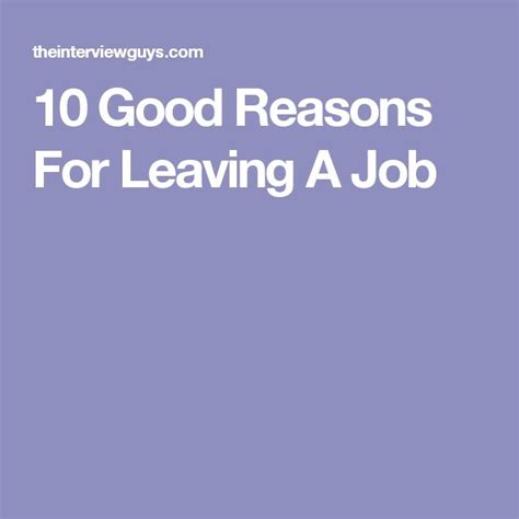 reason leave a job good reasons for leaving on resume application