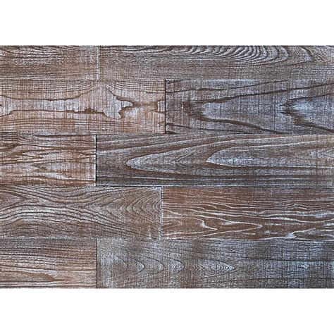 reclaimed wood divider 3d whitewash oak 1 4 in x 4 in x 24 in reclaimed wood