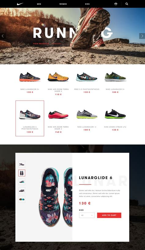 shoe website 1000 ideas about nike design on nike caign
