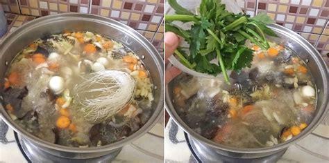 resep sop kimlo  segar hangat super nikmat mari masak