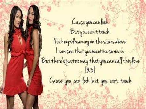 theme song nikki bella wwe bella twins theme song lyric video youtube