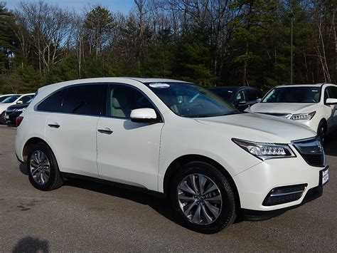 acura mdx pre owned certified pre owned 2014 acura mdx 3 5l v6 with technology